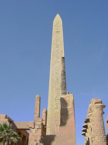 2005年12月エジプト: オベリスク